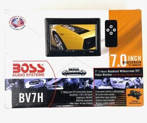 """Boss Audio Systems BV7H 7.0"""" Inch Widescreen TFT Headrest Video Monitor TV"""