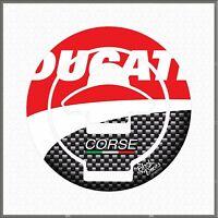 Protezione Adesivo Tappo Para Serbatoio Resinato compatibile con Ducati Tank Pad