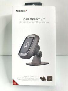 New Nimbus9 Magnetic Universal Car Mount Kit Vent & Dash Attachment Black