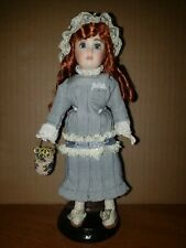 """Pretty 8"""" Reproduction French Looking All Bisque Doll"""