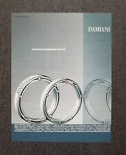 [GCG] K265- Advertising Pubblicità -2008- DAMIANI CO-DESIGNED BY DAMIANI&B.PITT