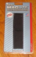 Maglite Black AAA Holster Nylon 2 Cell Solitaire Mag-lite mag-light Maglight