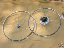 BICYCLE WHEELS 27 X 1 1/4  FIT SCHWINN  HUFFY SEARS NEW