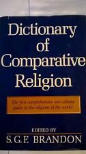 Dictionary of Comparative Religion by S.G. Brandon (1970, Hardcover)