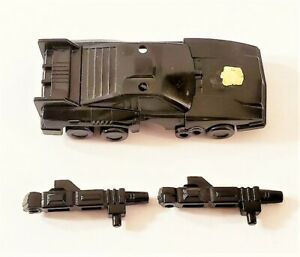 VINTAGE 1986 G1 TRANSFORMERS METROPLEX SCAMPER CAR WITH GUNS COMPLETE ORIGINAL