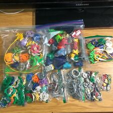 Vintage Beyblade Lot Hasbro 2002 First Gen Many spares pieces look at the pics