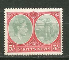 St Kitts & Nevis Scott #88 ( ) Mng Christopher Columbus 1942