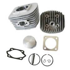 Cylinder Head Set & Piston Kit For 80CC Motorized Bicycle Bike Engine Parts 47mm