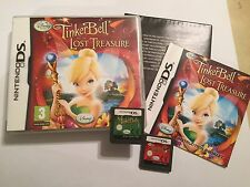 2 x PAL NINTENDO DS DSL DSi XL GAMES DISNEY FAIRIES TINKERBELL + LOST TREASURE