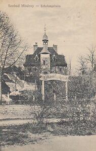 Carte Postale Poméranie Seebad Misdroy Erholungsheim 1921