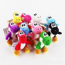 1pcs 10cm Super Mario Bros Yoshi Stuffed Plush Toys With Keychain Pendant