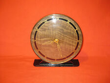Vintage Art Deco Mechanical Brass Mantel Clock