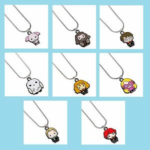 Official Harry Potter Jewellery Cutie Character Enamel Charm Pendant Necklace