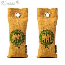 Air Purifying Bag Bamboo Charcoal Bag Air Freshener Odor Deodorizer 2 x 75g