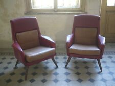 Pair of vintage lounge chairs