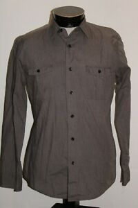 KR3W Mens medium M Long Sleeve Button-up shirt Combine ship Discount