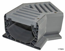 NDS 2301 Spee-D Channel Fabricated 45-degree Elbow Section w/ GRAY Grate