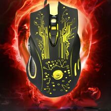 Mouse gaming per videogiochi USB Wired Gaming Mouse 6Buttons Game Pro 6 tasti