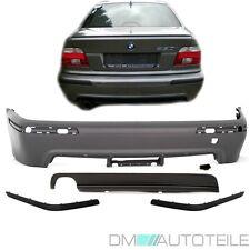 BMW E39 Stoßstange hinten ohne PDC Limousine grundiert+ Diffusor M Paket 95-03