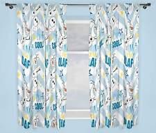Disney Eiskönigin Olaf Vorhänge 168cm X 183cm weiß Zoll jungen und Mädchen