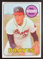 1969 Topps #355 PHIL NIEKRO Atlanta Braves Hall of Fame NICE CENTERING EX-MINT