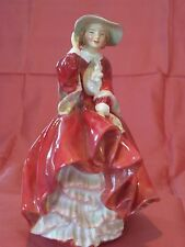 """Royal Doulton """"Top of the Hill"""" in Red - RdNo822821 HN1834"""