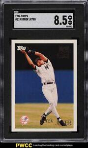 1996 Topps Derek Jeter ROOKIE RC #219 SGC 8.5 NM-MT+