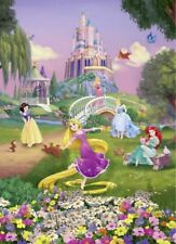 Wall Mural Wallpaper Disney Princess 254x184cm Large Photo Decor for Kids Room