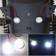 2x 12-85V Car Flashing Emergency Warning LED Strobe Lights Flasher Red+White