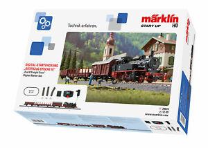Märklin H0 29074 Starter Set Freight Traffic With Steam Locomotive Br 74
