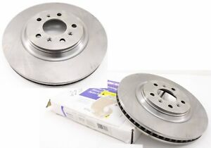 New Genuine GM OEM FRONT Brake Rotor 18A2414A 2006-2012 Impala DTS 19241847 PAIR