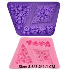 Flower Clusters Silicone Cake Mould Fondant Sugar Craft Chocolate Decorate Tool