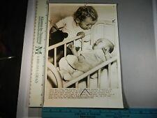 Rare Historical Orig VTG 1944 Cute Babies At New York Foundling Hospital Photo