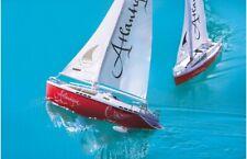 Jamara 040250 Atlantique Segelboot 2 Kanal 27MHz Boot Modellschiff