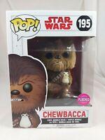Star Wars Funko Pop - Chewbacca (Flocked) - The Last Jedi - No. 195