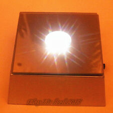 NEW Square Crystal Display 4 LED White Light Base - Display for Crystal 3D Glass