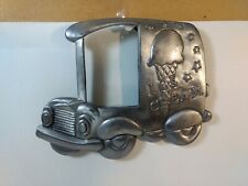 Metal Ice Cream Truck Picture Photo Frame hd2187