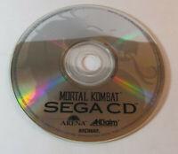Mortal Kombat (Sega CD, 1993) Disc Only Good Shape Tested / Works