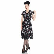 Hell Bunny Belleville Floral 1940s Retro Vintage Wartime WW2 Victory Tea Dress