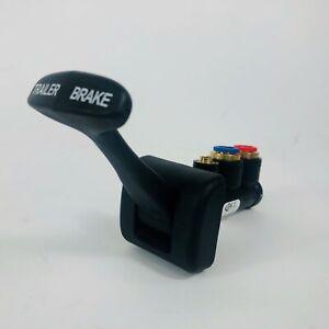 "FREIGHTLINER 26503-1 TRAILER BRAKE VALVE PORTS 2 OF 3/8"" PUSH-IN, 1 OF 1/4"" PUSH"