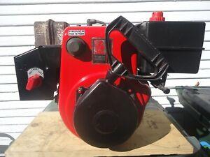 TECUMSEH 8 HP ENGINE HM-80 1 INCH CRANK WITH STATOR FOR HEADLIGHTS