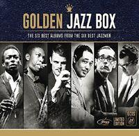 GOLDEN JAZZ BOX (JAZZMEN) with Miles Davis, John Coltrane, Chet Baker 6 CD NEU