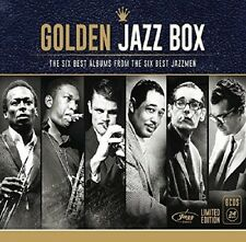 GOLDEN JAZZ BOX (JAZZMEN) with Miles Davis, John Coltrane, Chet Baker 6 CD NEW+