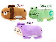 Fleece Squeaky Dog Toys Puppy Squeaker Chew Toys Sound Stuffed Cat Toys Pillows