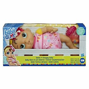 Baby Alive Sweet 'n Snuggly Baby Doll