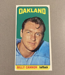 1965 Topps Football BILLY CANNON #134 NICE