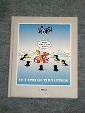 """Autogramm von Uli Stein in """"Uli Steins Tierleben"""" Neu / Geschenk/ Cartoon Lappan"""