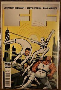FF #1 (2011 Marvel) Stan Goldberg Ltd.1:10 Classic Artist Variant NM