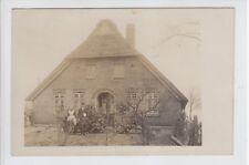AK Niedersachsen, Friesland ?, Bauernhaus, Foto 1910