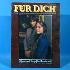 DDR FÜR DICH 13 1980 Jugendweihe Saalfeld Kabelwerk Schönow Bitterfeld Chemiek.